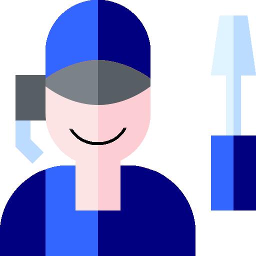 Logo montrant un homme avec un tourne vis pour indiqué le conseil de pièces auto pneus